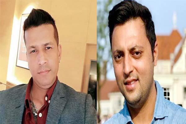war on social media between neeraj bharati and ashray sharma