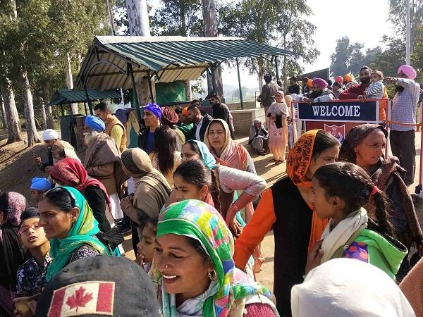 more than 17 251 devotees visited kartarpur sahib in 1 month