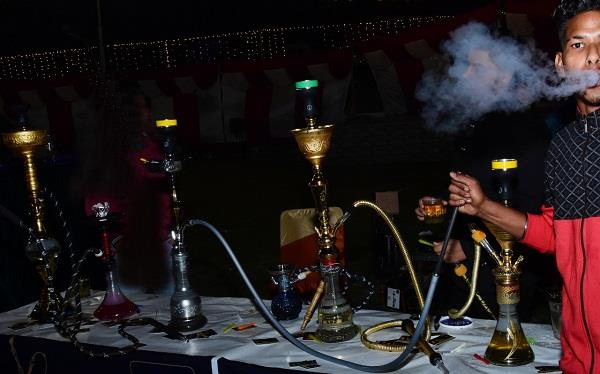 hookah arrived at marriage palaces