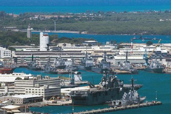 us news of firing at pearl harbor military base in hawaii tv reports