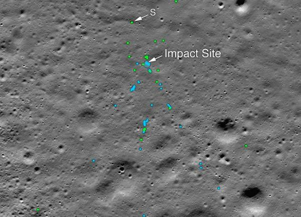 nasa found the remains of chandrayaan 2 vikram lander