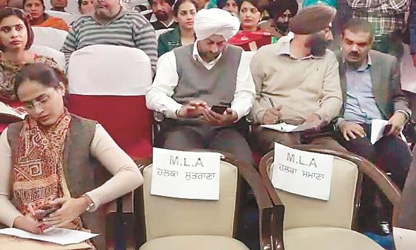 angry congress mlas boycott government meetings