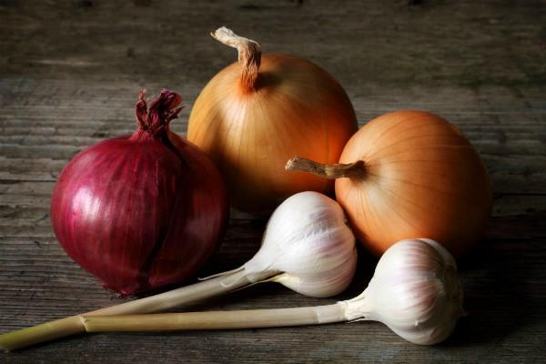 onion and garlic are very beneficial
