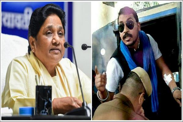 head of bhima army forcibly goes to jail mayawati