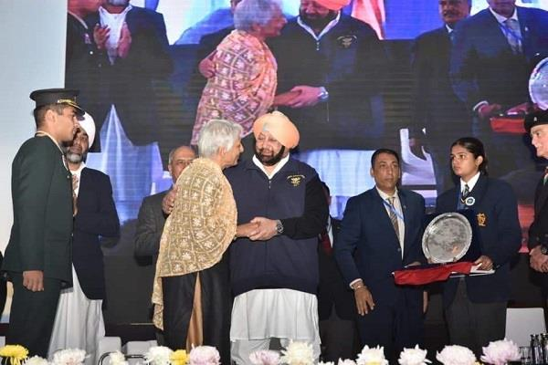 captain amarinder honoured military units of burma campaign