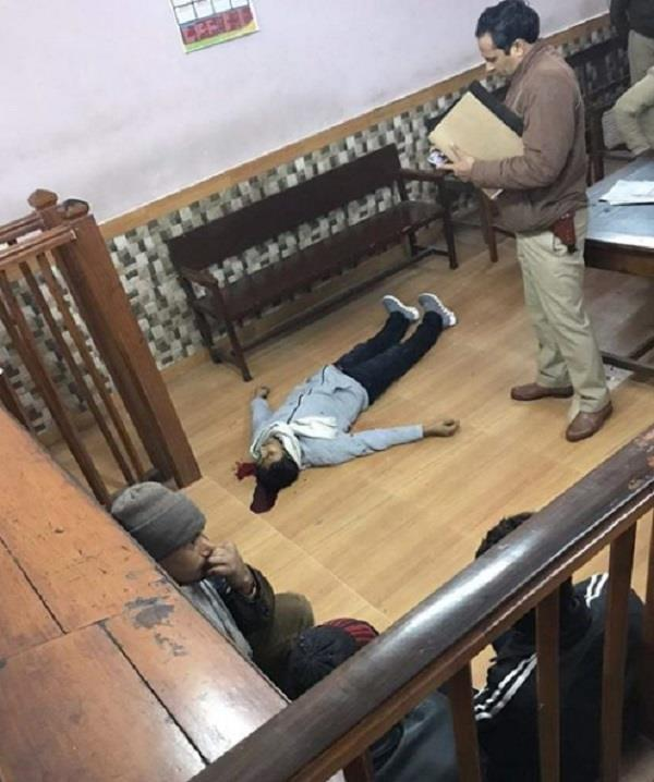 up assassin shot dead in court room judge saves his life in secret