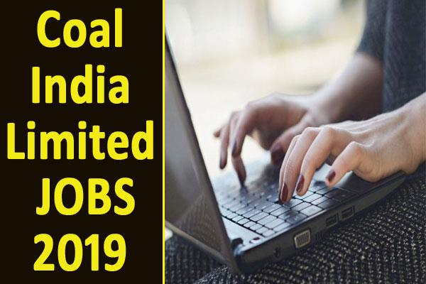 coal india limited recruitment 2019 for 1326 management trainee posts