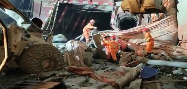 collapsed tunnel leaves 4 dead in china