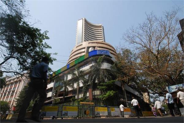 stock market rose marginally by 5 points and the nifty near 12275