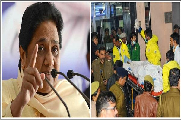 jungleraj is prevalent in up mayawati