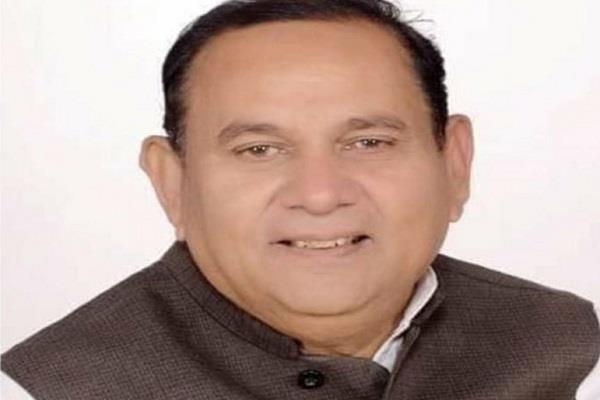 congress mla banwari lal sharma passed away