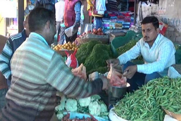 rising onion prices also hurt the vegetable sellers