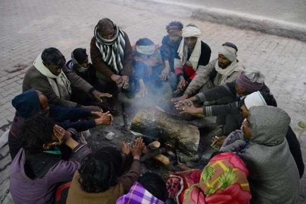 outbreak of cold wave in madhya pradesh warning of frost in many districts