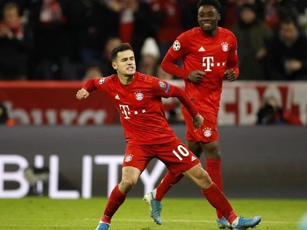 bayern munich easy win over coutinho hat trick rb leipzig on top