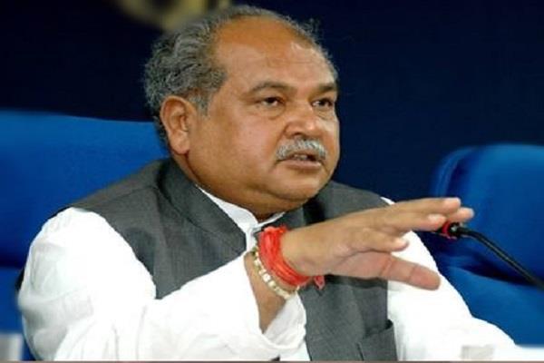 union minister tomar attacks kamal nath government on caa