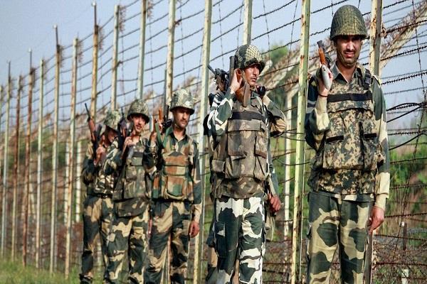 ceasefire breaking pak loc for intruding terrorists ig bsf