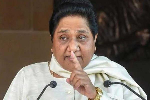attack on bsp candidate mayawati demands strict action against the culprits