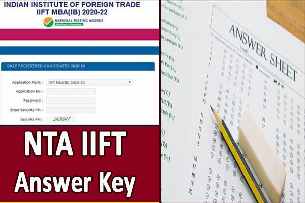 iift 2020 nta answers exam soon download