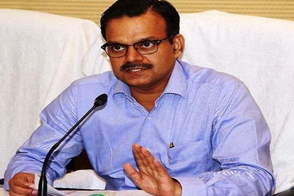 transfer of secretary to raghuvar das