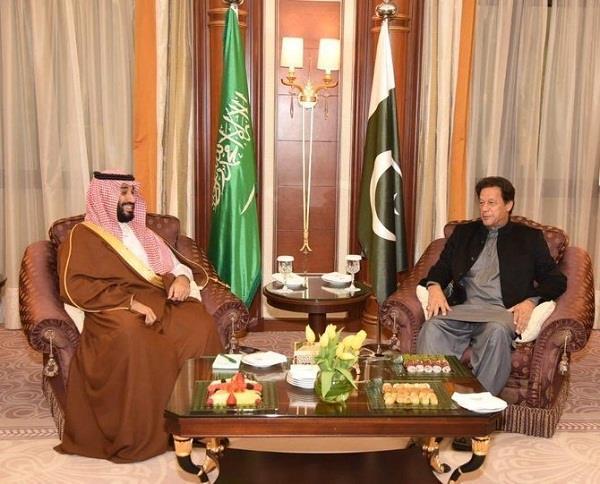pakistan prime minister imran khan arrives in saudi arabia