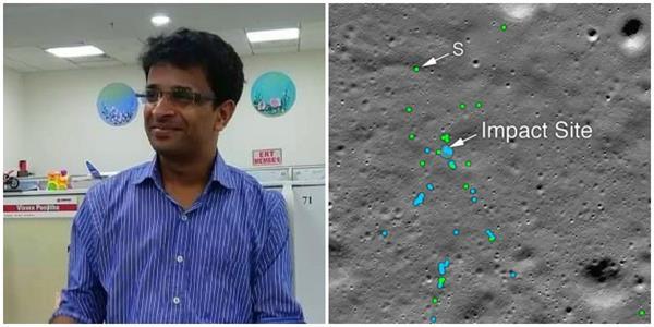 indian engineer helps nasa find debris of vikram lander