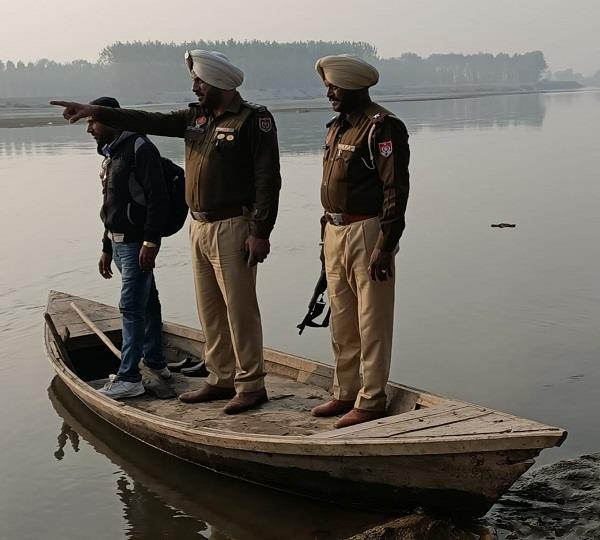 search operation in sutlej river