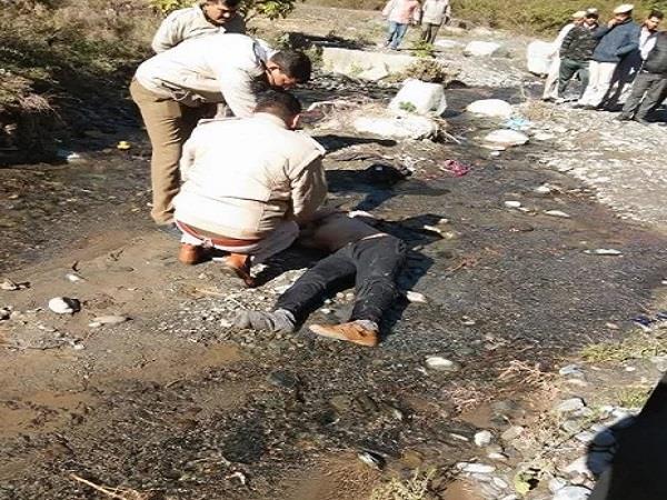 body of a government school teacher found in a drain