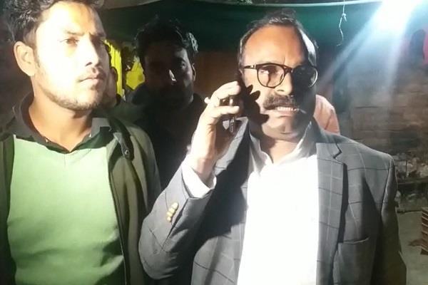mla raided illegal liquor bases shut down 5 premises on the spot