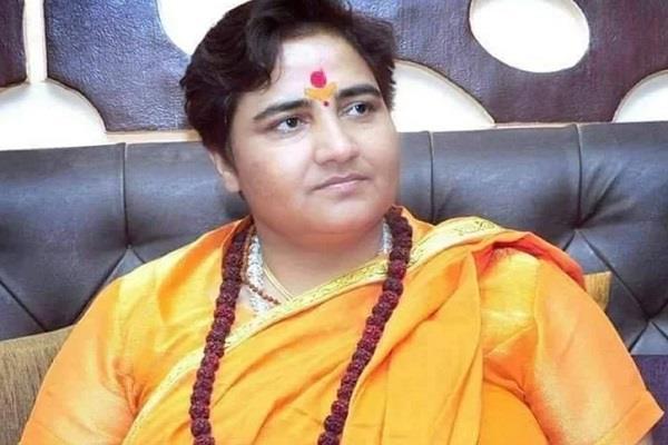 sadhvi pragya did not get the seat of choice in the plane
