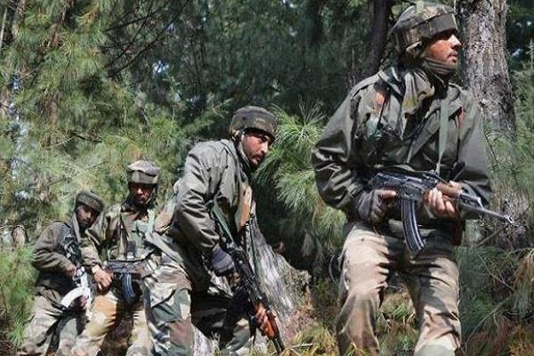 pak shoots ceasefire in uri sector army gives a befitting reply