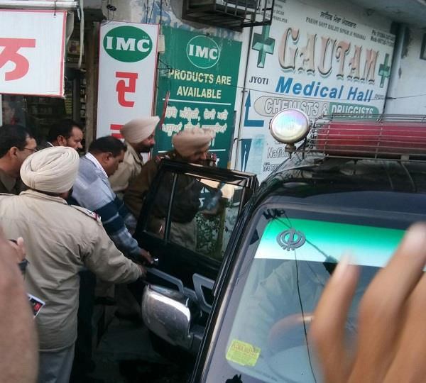 drugs recovered from senior congress leader s medical store