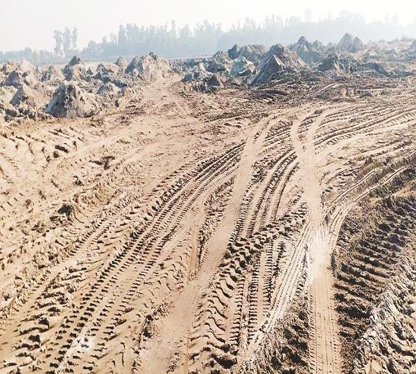 illegal mining in nawanshahr