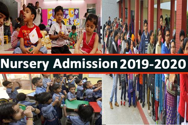 nursery admission process begins delhi schools upload criteria