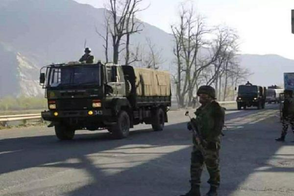 ied recovered in warpora security forces start search operation