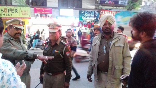 police search campaign