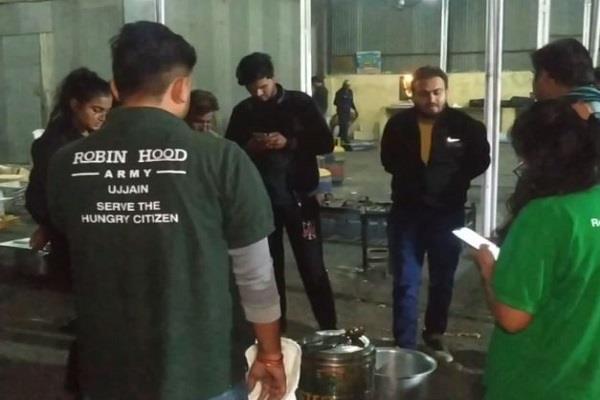 major initiative robinhood army ujjain delivers food poor weddings programs