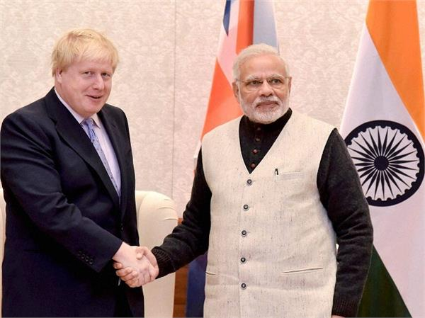 we will never accept anti india sentiments  boris johnson