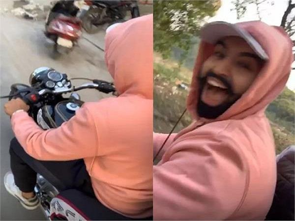 parmish verma broke traffic rule
