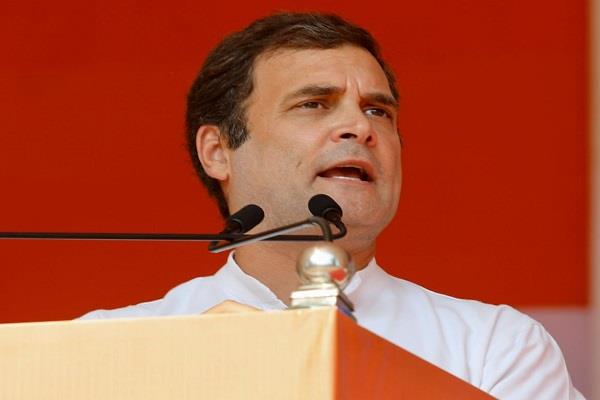 rahul gandhi attacks central government