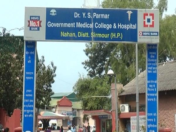 bindal visits medical college nahan