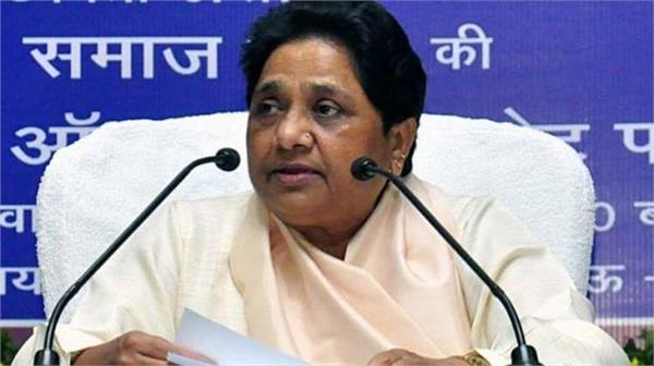 mayawati says central government shows haste in passing cab