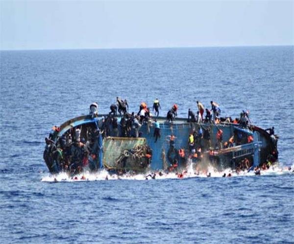 at least 58 migrants dead after boat capsizes in atlantic ocean