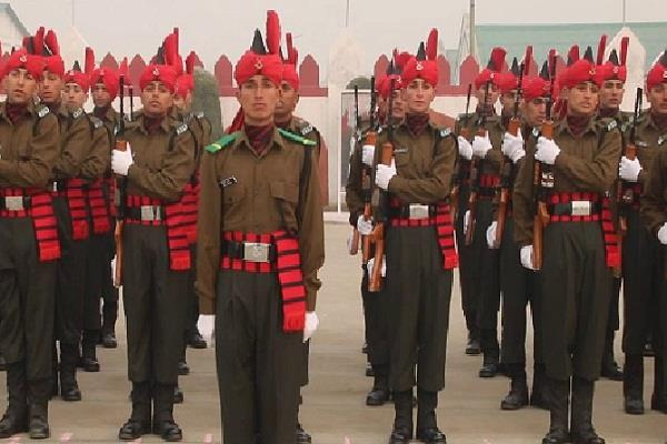 404 jawans army j k general kjs dhillon passing parade