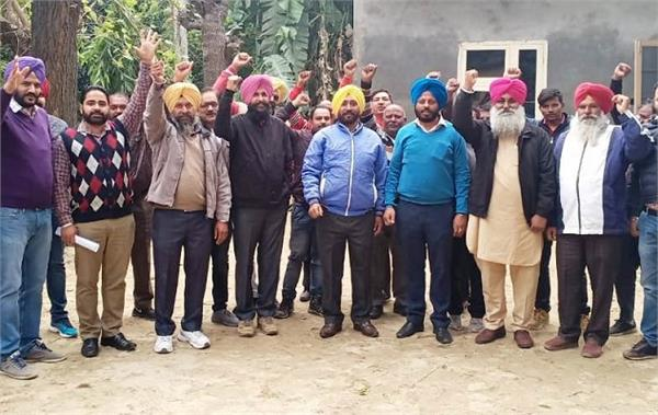 water supply workers protest against congress