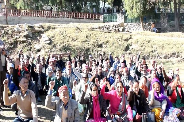 ssb trained voluntary organization s monthly meeting concludes