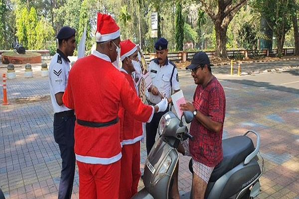 santa claus explained traffic rules