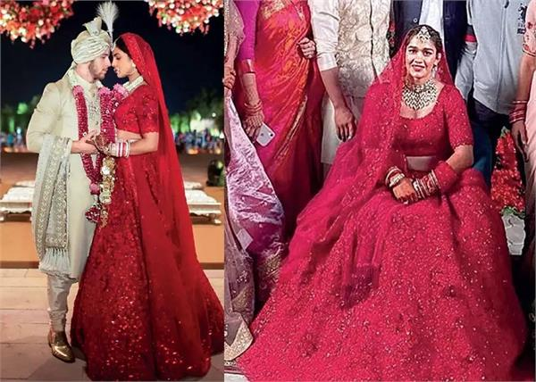 Inspired Fashion: पहलवान बबीता फोगाट ने पहना हुबहू प्रियंका जैसा लहंगा
