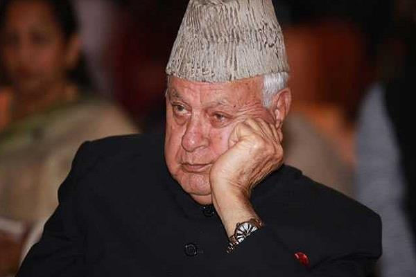 farooq abdullah s custody period extended by three months officer