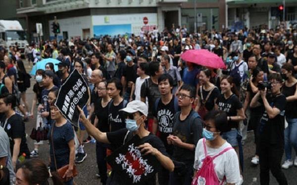 hong kong demonstration case china will bans us ngo