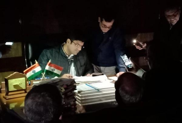 dushyant chautala shared a photo of his work